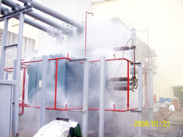 Water Mist Firefighting System